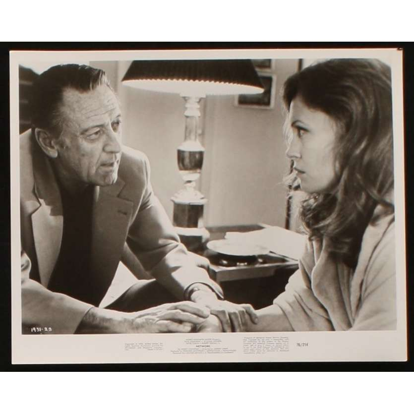 NETWORK US Movie Still 2 8x10 - 1976 - Sidney Lumet, Faye Dunaway