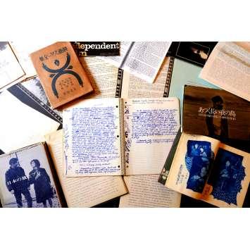 THE YAKUZA US Handwritten Movie Script 9x12 - 1973 - Leonard Shrader, Robert Mitchum