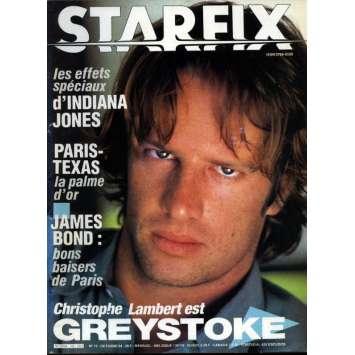 STARFIX N°19 Magazine - 1984 - Greystoke - Indiana Jones