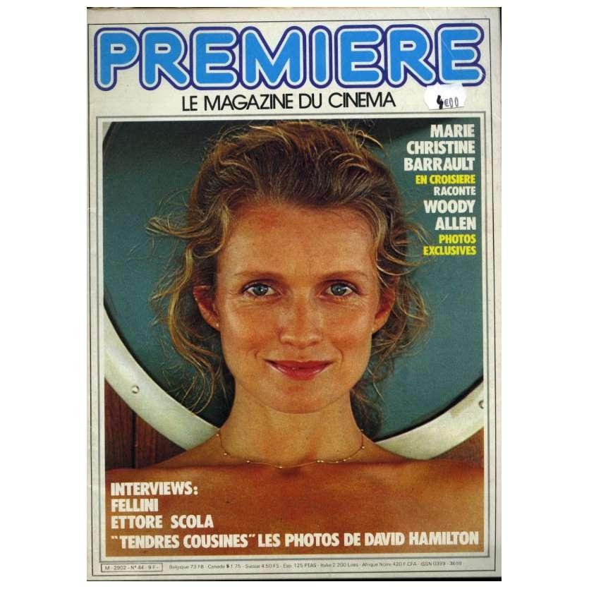 PREMIERE N°44 Magazine - 1981 - Marie Christine Barrault