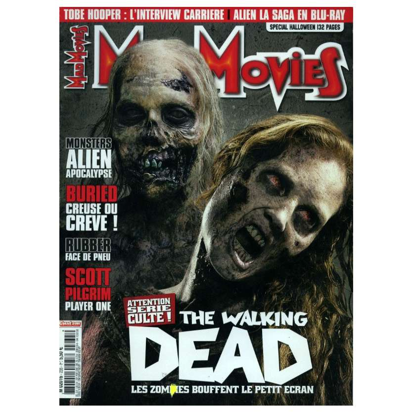 MAD MOVIES N°235 Magazine - 2010 - Walking Dead