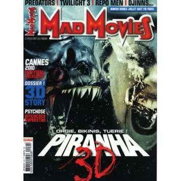 MAD MOVIES N°232 Magazine - 2010 - Piranha 3D