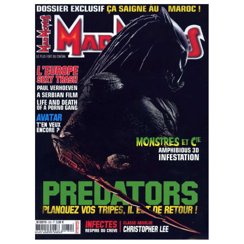 MAD MOVIES N°230 Magazine - 2010 - Predators