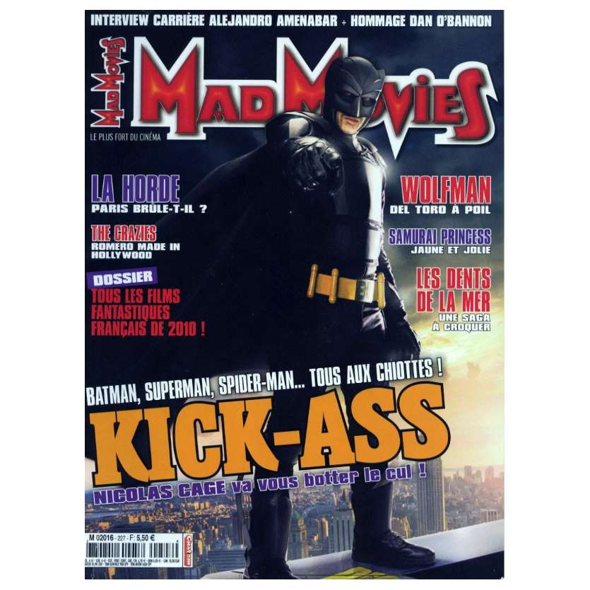 MAD MOVIES N°227 Magazine - 2010 - Kick Ass