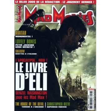 MAD MOVIES N°226 Magazine - 2010 - Le Livre d'Eli