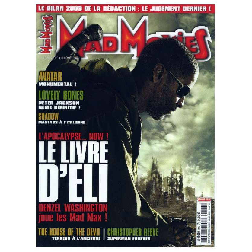 MAD MOVIES N°226 Magazine - 2010 - Le Livre d'Eli
