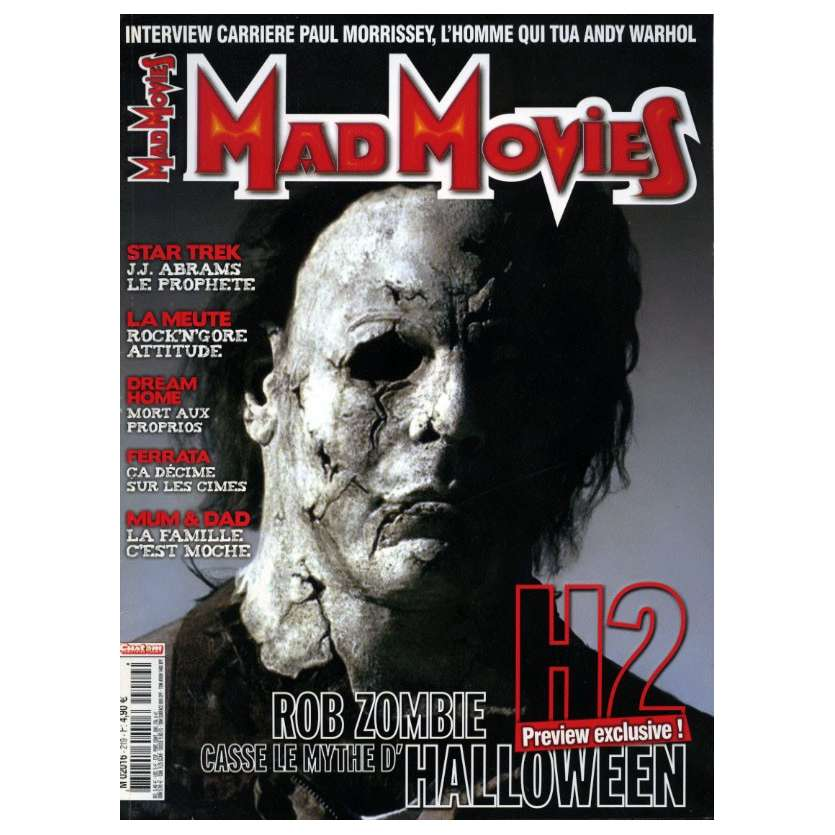 MAD MOVIES N°219 Magazine - 2009 - Halloween 2
