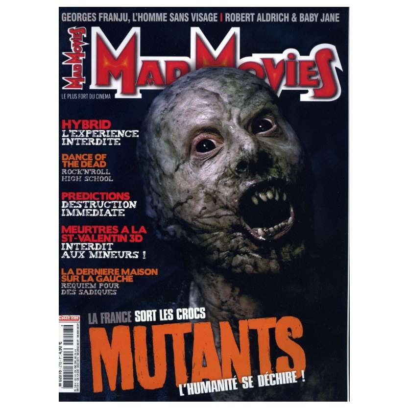 MAD MOVIES N°218 Magazine - 2009 - Mutants