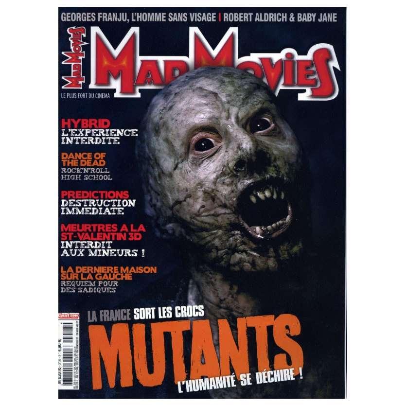 MAD MOVIES N°218 Magazine - 2009 - Mutants