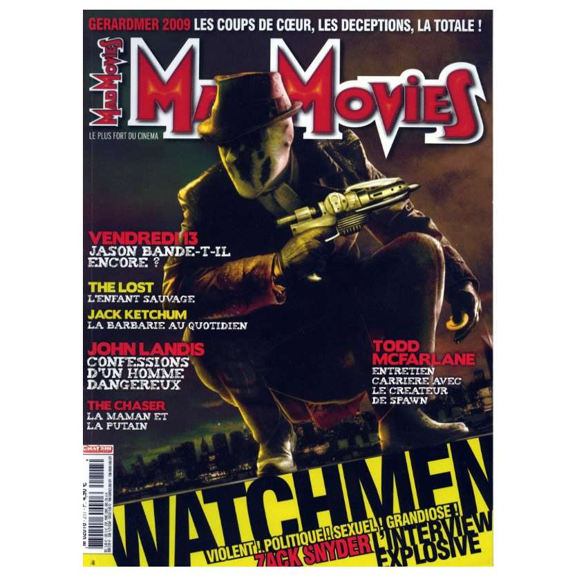 MAD MOVIES N°217 Magazine - 2009 - Watchmen