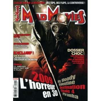 MAD MOVIES N°215 Magazine - 2009 - L'horreur en 3D