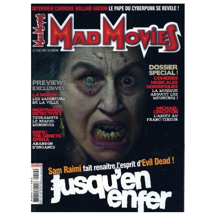 MAD MOVIES N°214 Magazine - 2008 - Jusqu'en Enfer