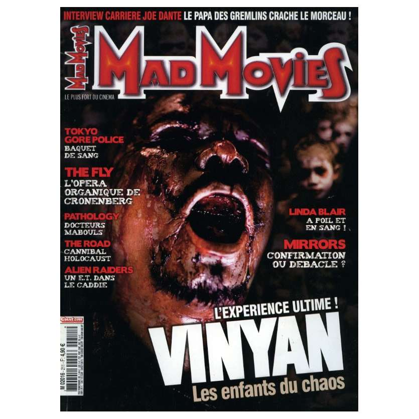 MAD MOVIES N°211 Magazine - 2011 - Vinyan