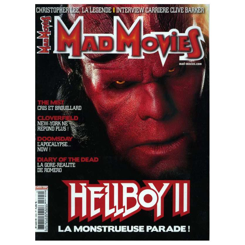 MAD MOVIES N°205 Magazine - 2008 - Hellboy II