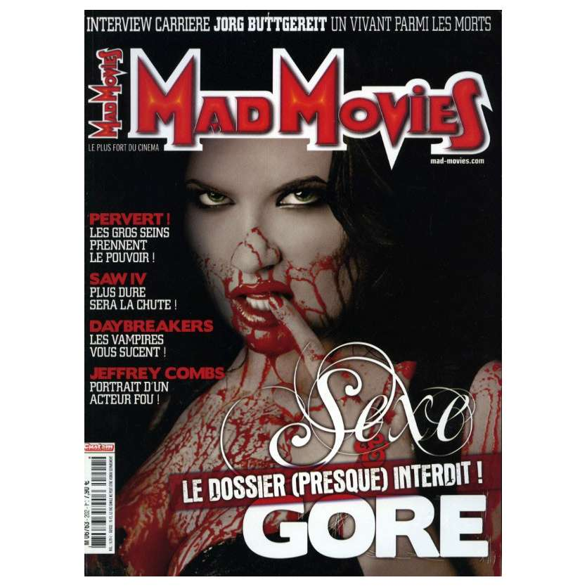 MAD MOVIES N°202 Magazine - 2003 - Sexe et Gore