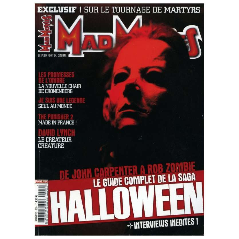 MAD MOVIES N°201 Magazine - 2003 - Saga Halloween