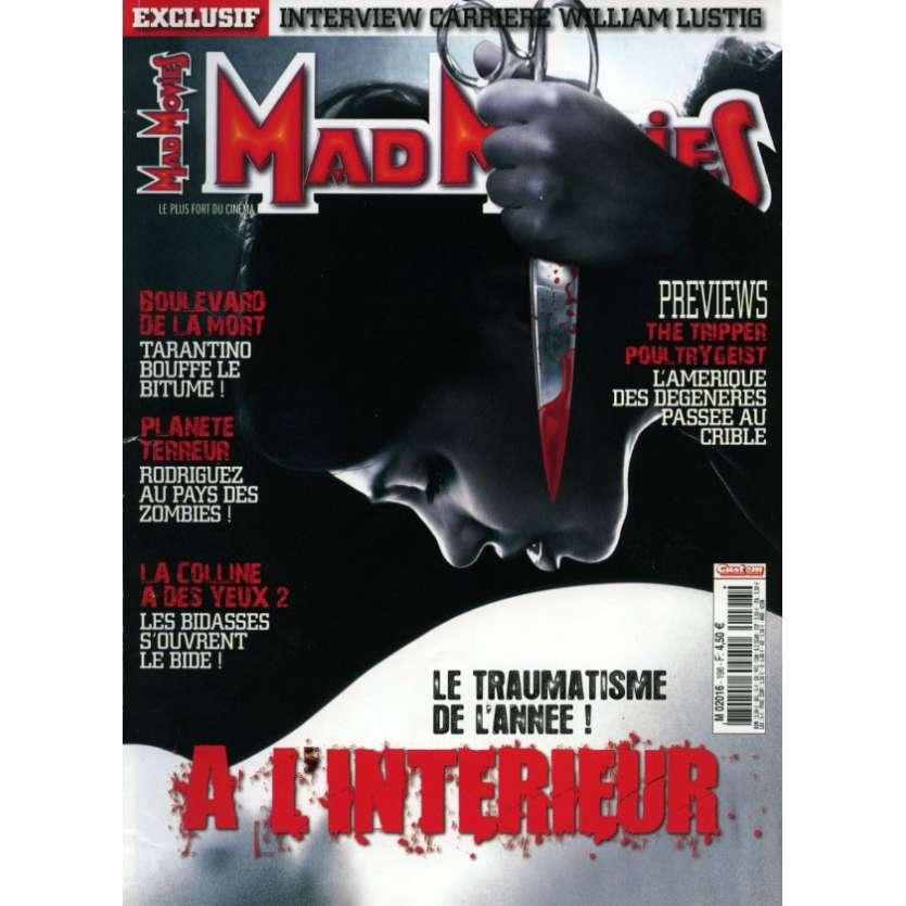 MAD MOVIES N°198 Magazine - 2007 - A L'intérieur