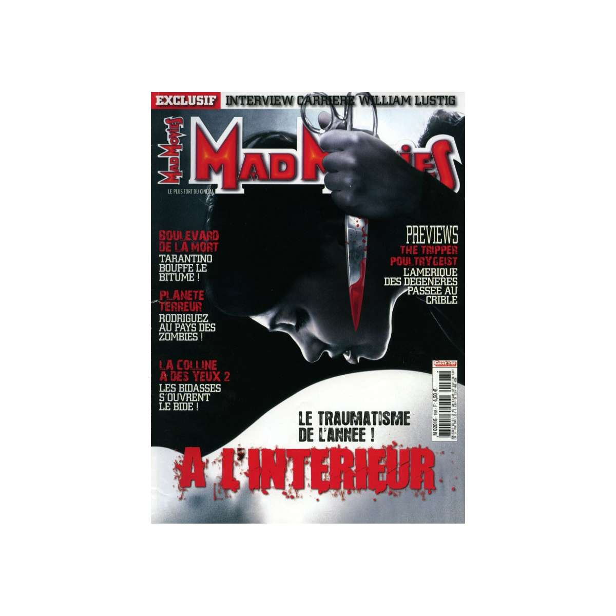 Mad movies magazine n 198 for A l interieur film