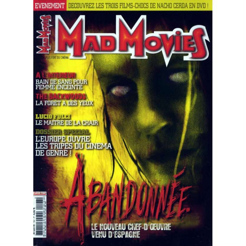 MAD MOVIES N°197 Magazine - 2007 - Abandonnée