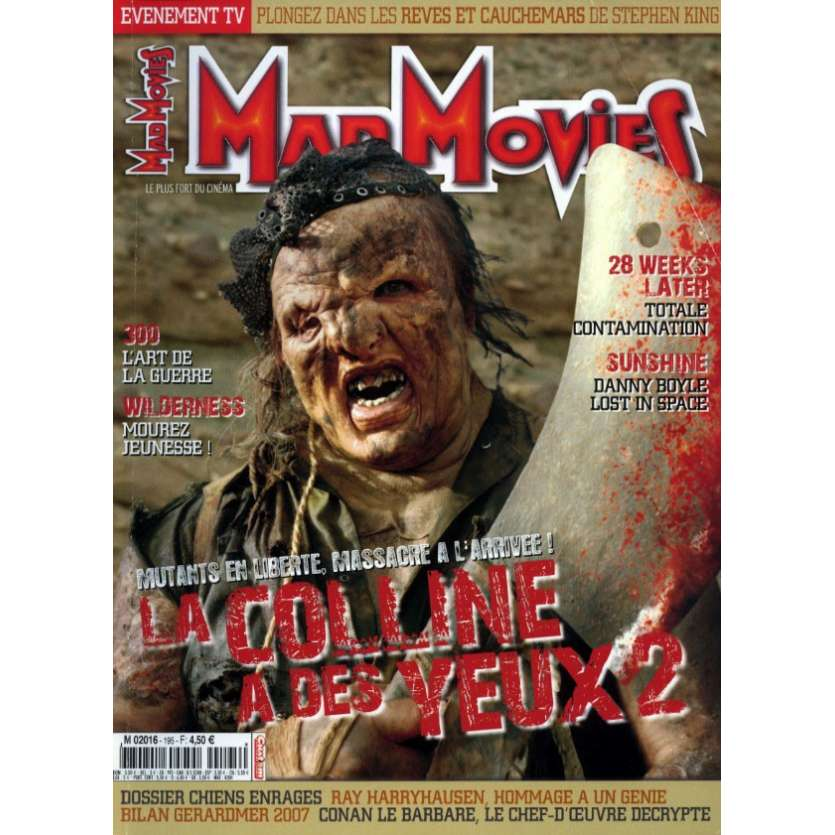 MAD MOVIES N°195 Magazine - 2007 - La Colline a des yeux