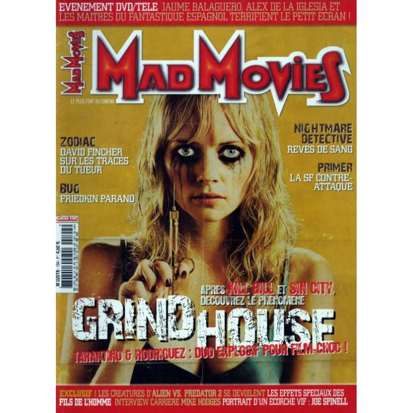 MAD MOVIES N°194 Magazine - 2007 - Grindhouse