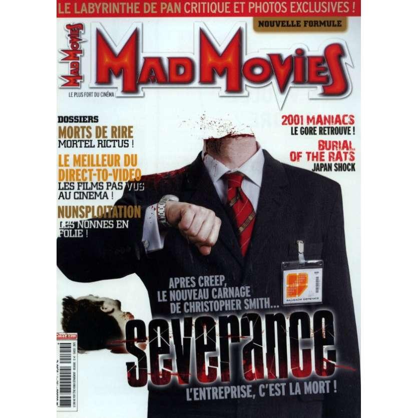 MAD MOVIES N°190 Magazine - 2006 - Severance