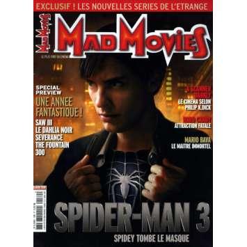 MAD MOVIES N°189 Magazine - 2006 - Spiderman 3