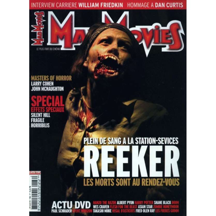 MAD MOVIES N°186 Magazine - 2006 - Reeker