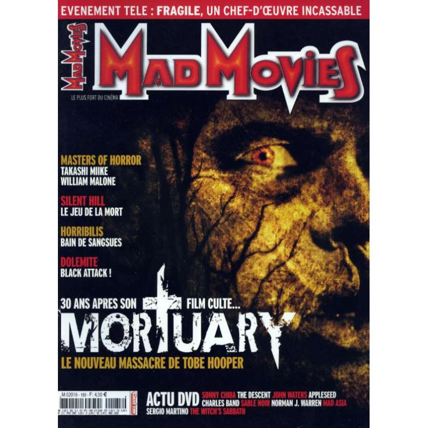 MAD MOVIES N°185 Magazine - 2006 - Mortuary