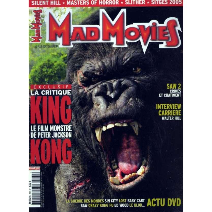 MAD MOVIES N°181 Magazine - 2005 - King Kong