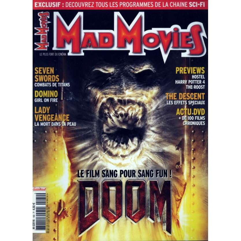 MAD MOVIES N°180 Magazine - 2005 - Doom