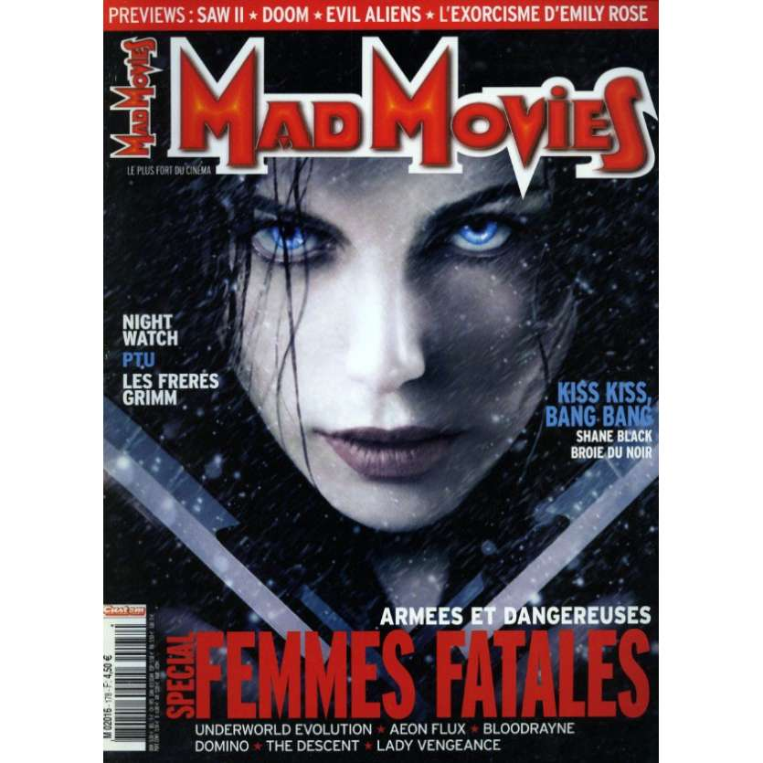 MAD MOVIES N°178 Magazine - 2005 - Femmes Fatales