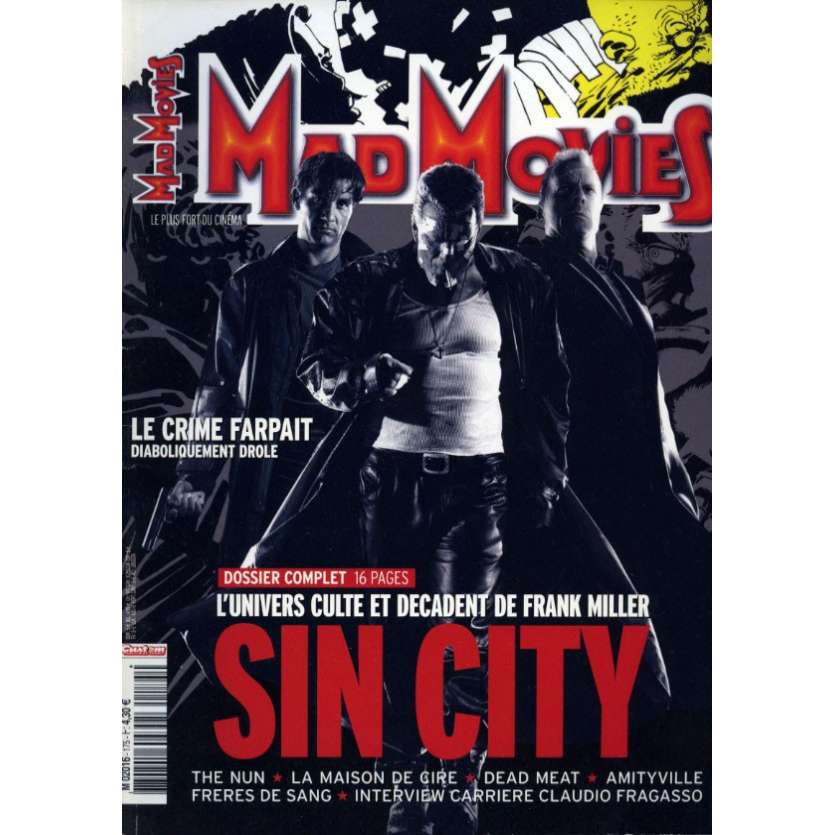 MAD MOVIES N°175 Magazine - 2005 - Sin City