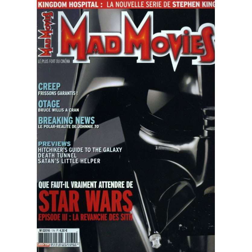 MAD MOVIES N°174 Magazine - 2005 - Star Wars Episode III