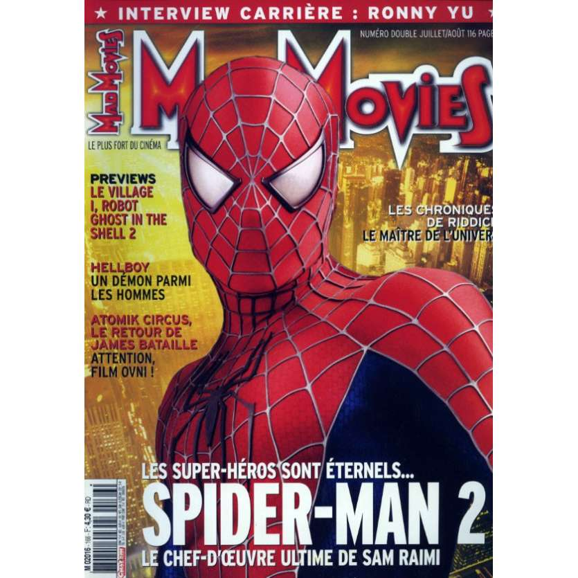 MAD MOVIES N°166 Magazine - 2004 - Spider-man 2