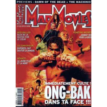 MAD MOVIES N°163 Magazine - 2004 - Ong Bak