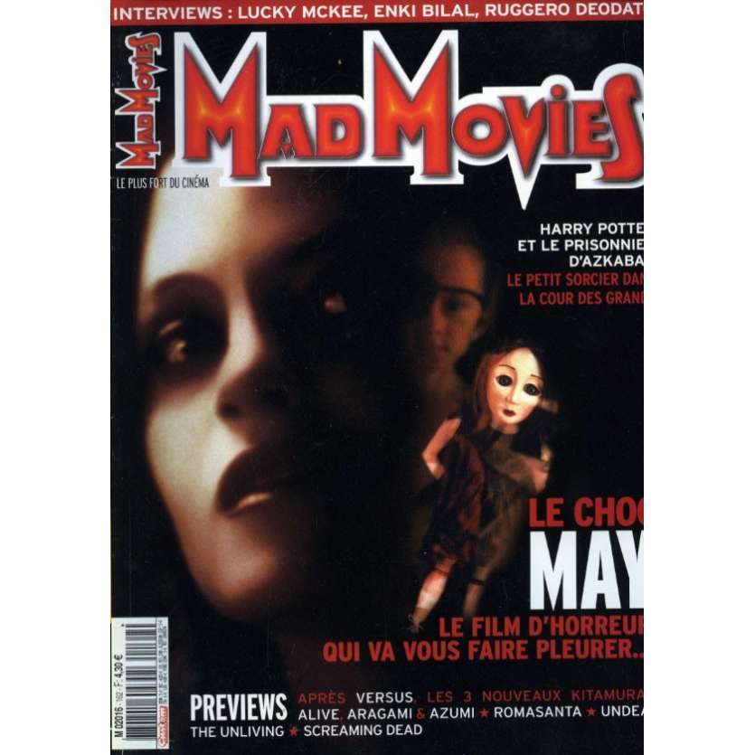 MAD MOVIES N°162 Magazine - 2004 - May