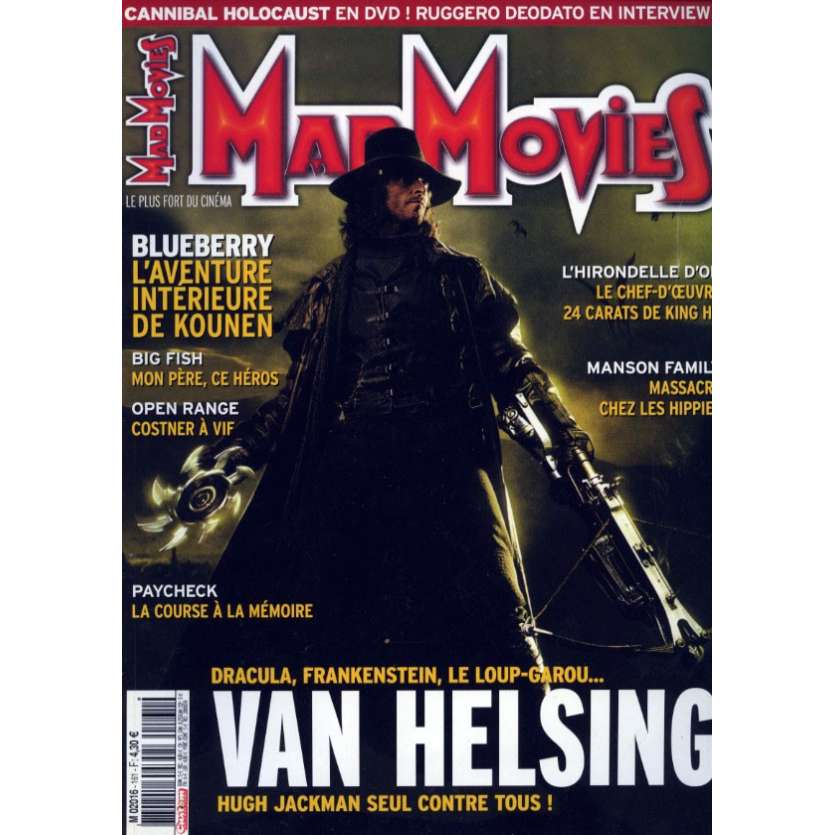 MAD MOVIES N°161 Magazine - 2004 - Van Helsing