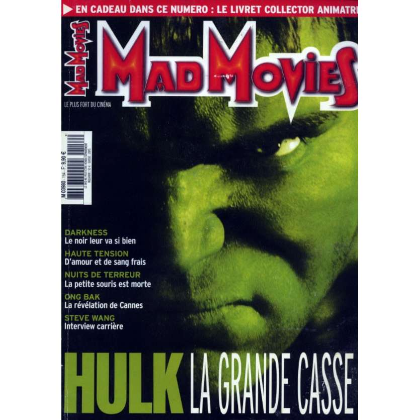 MAD MOVIES N°154 Magazine - 2003 - Hulk