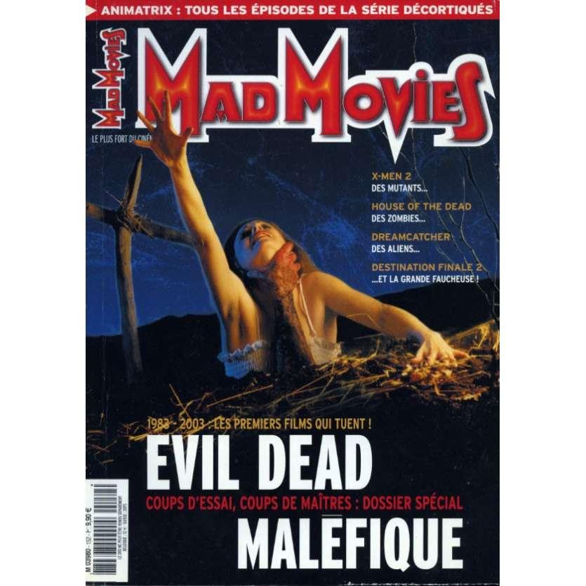 MAD MOVIES N°152 Magazine - 2003 - Evid Dead