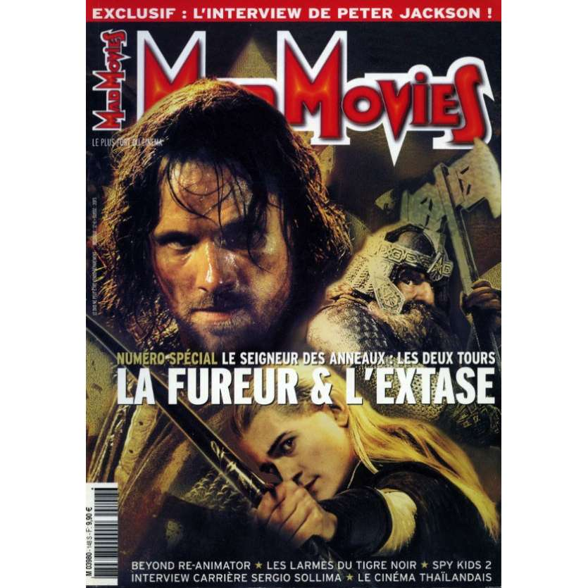 MAD MOVIES N°148 Magazine - 2002 - Les Deux Tours