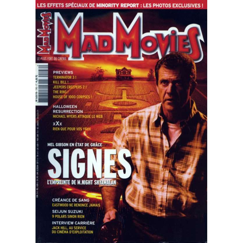 MAD MOVIES N°146 Magazine - 2002 - Signes