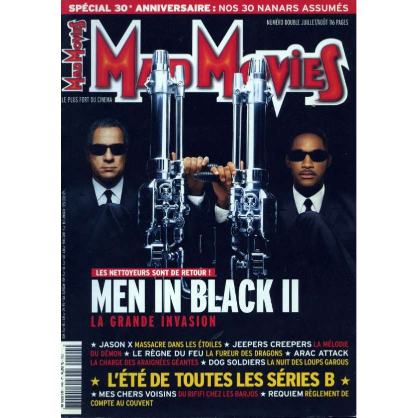 MAD MOVIES N°144 Magazine - 2002 - Men In Black II