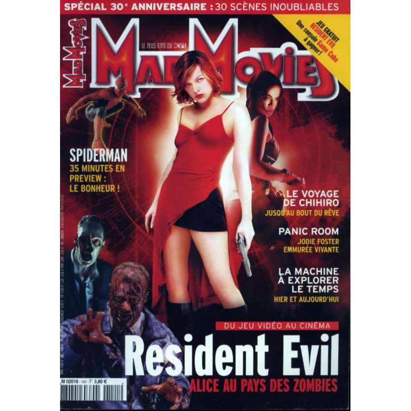 MAD MOVIES N°141 Magazine - 2002 - Resident Evil