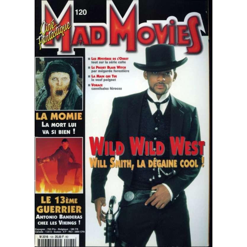 MAD MOVIES N°120 Magazine - 1998 - Wild Wild West