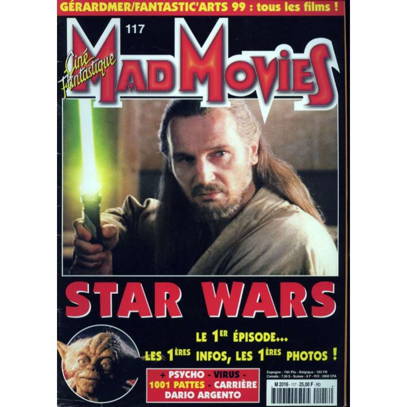 MAD MOVIES N°117 Magazine - 1999 - Star Wars Episode I