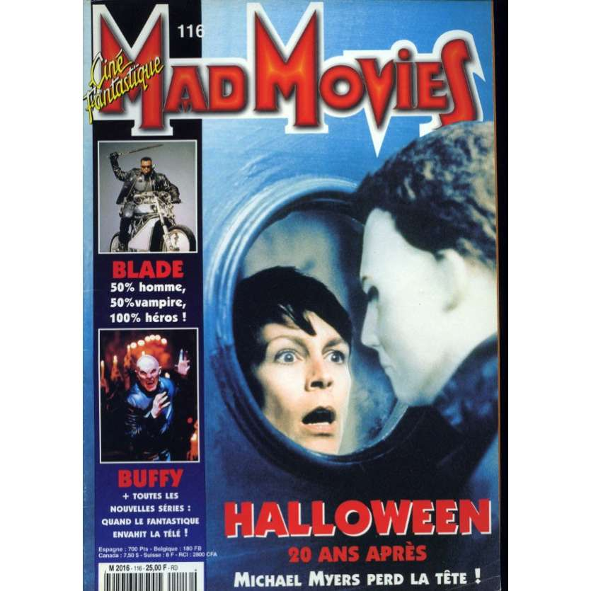 MAD MOVIES N°116 Magazine - 1998 - Halloween