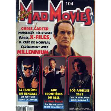 MAD MOVIES N°104 Magazine - 1997 - Millenium