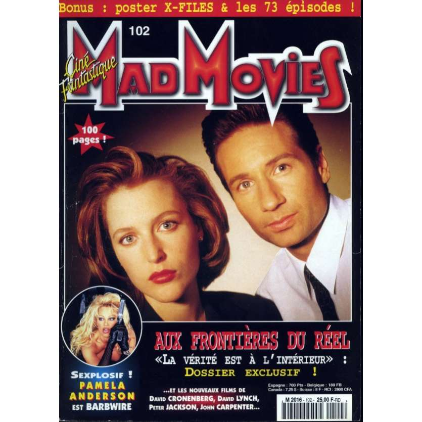 MAD MOVIES N°102 Magazine - 1996 - X-Files