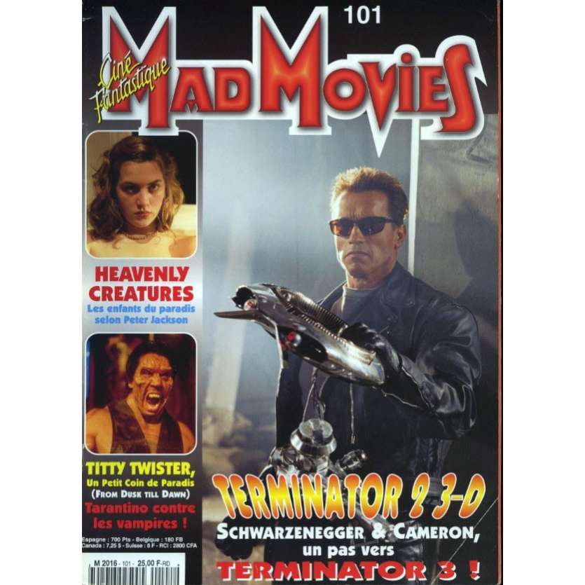 MAD MOVIES N°101 Magazine - 1996 - Terminator 2